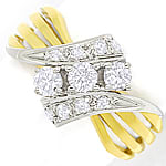 Attraktiver Damenring 0,56ct Diamanten 14K Gold
