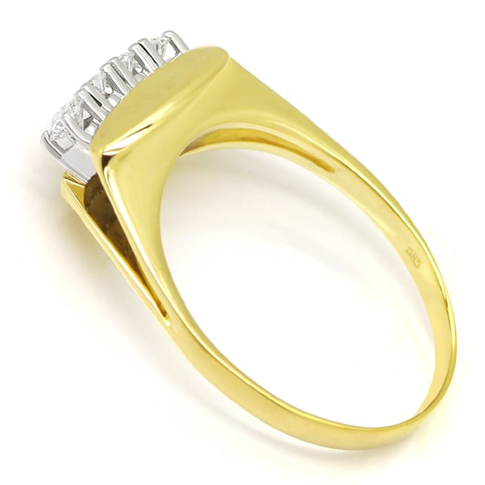 Foto 3 - Diamantring mit 0,40 Carat Brillanten in 14K Gold, S2026