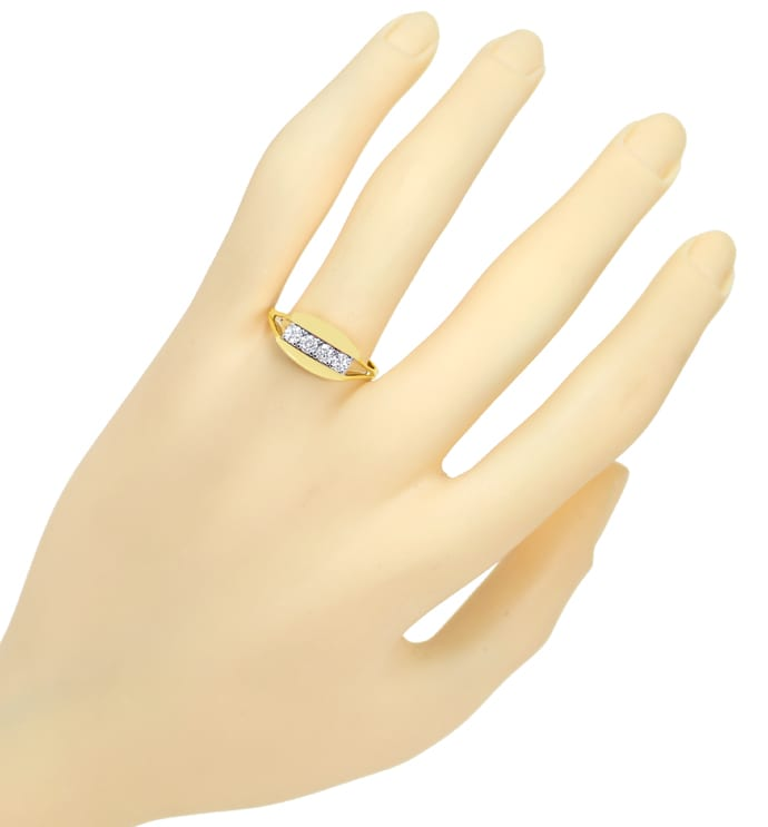 Foto 4 - Diamantring mit 0,40 Carat Brillanten in 14K Gold, S2026