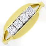 Diamantring mit 0,40 Carat Brillanten in 14K Gold