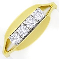 zum Artikel Diamantring mit 0,40 Carat Brillanten in 14K Gold, S2026