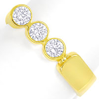 zum Artikel Designer Diamantring 0,6ct Brillanten in Gelbgold, S2069