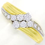 Eleganter Diamantring mit 0,50ct Brillant in 14K Gold