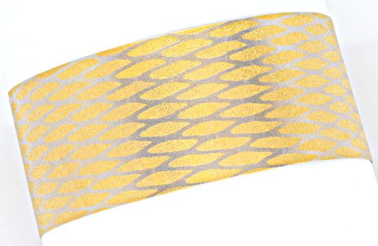 Foto 1, Original Niessing Flexible Armspange in Platin Gelbgold, S2490