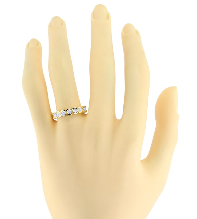 Foto 4 - Allianz Diamantring 0,53ct Brillanten Gelbgold, S2641