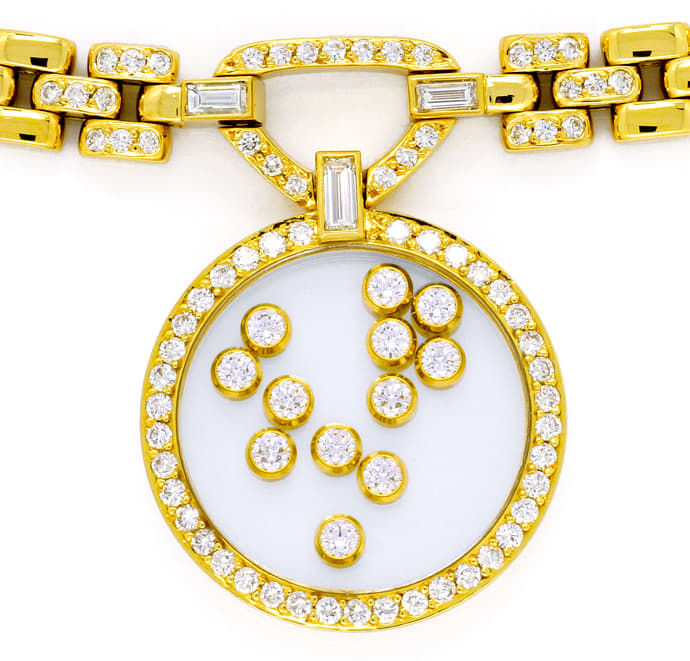 Foto 2 - Original Chopard Brillant Collier Happy Diamonds 2,39ct, S2664