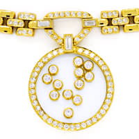 zum Artikel Original Chopard Brillant Collier Happy Diamonds 2,39ct, S2664