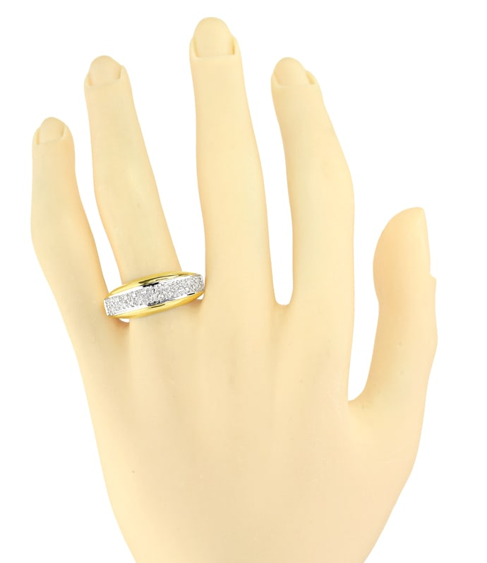 Foto 4 - Attraktiver Diamantring mit 0,25ct Diamanten, S2706