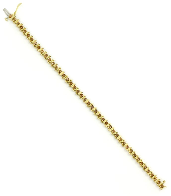 Foto 3 - Riviere Tennis Goldarmband 2,88ct Brillanten, S2716