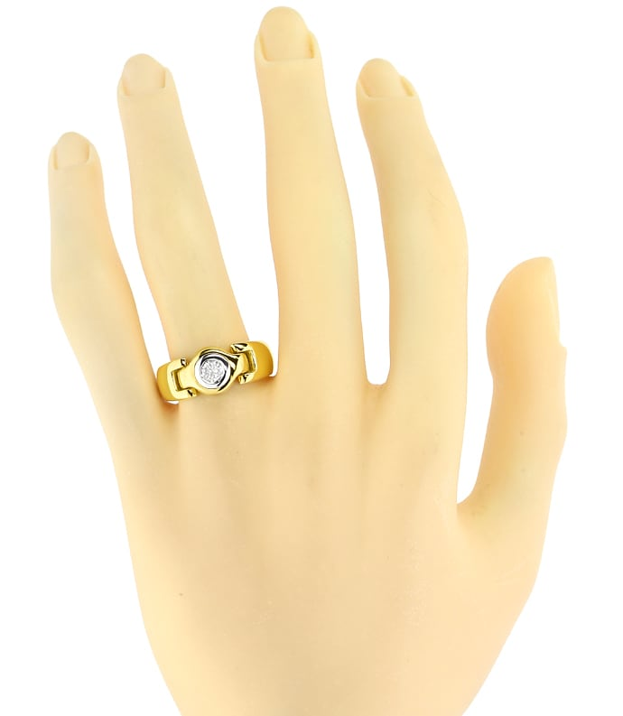 Foto 4 - Designer Diamantring 0,28ct Brillant Solitär, S2728