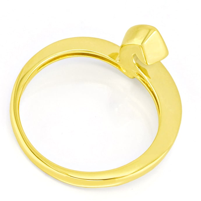 Foto 3 - Designer Diamantring 0,12ct Brillant 14K Gold, S2792