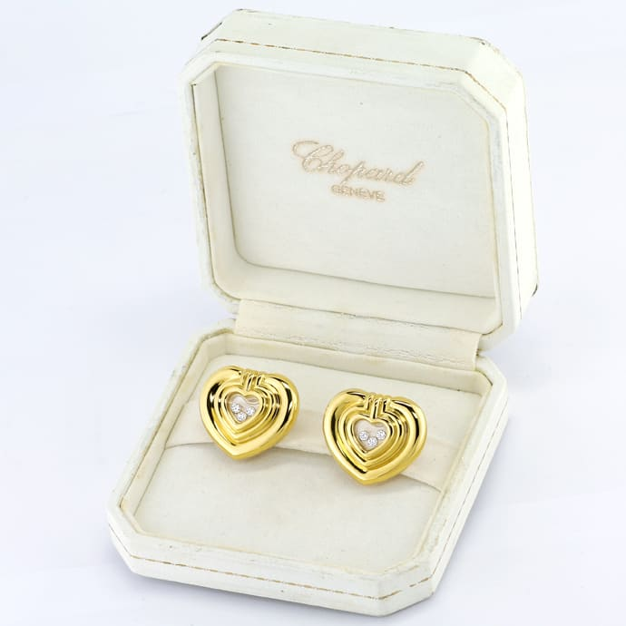 Foto 6 - Chopard Happy Diamonds Spirit Brillant Ohrstecker Clips, S2993
