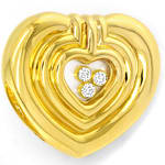 Chopard Happy Diamonds Spirit Brillant Ohrstecker Clips