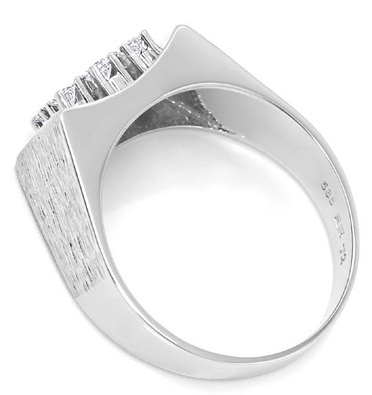 Foto 3 - Edler Diamant Ring mit 0,40ct Brillianten 14K Weissgold, S3000