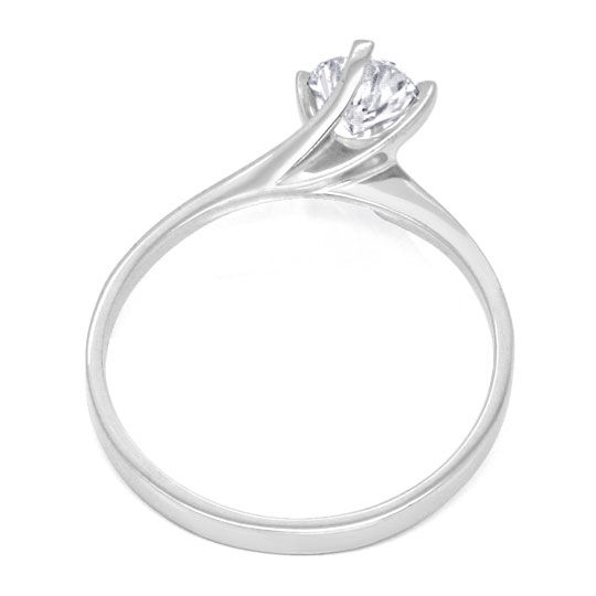 Foto 3 - Brillantring 0,56ct Top Wesselton Plus Lupenrein Luxus!, S3323