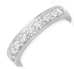 Foto 1, Platin Brillant Vollmemory Ring 1,47ct Diamanten Luxus!, S3750