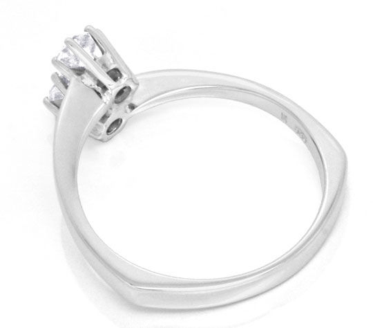 Foto 3 - Diamant Ring Weissgold zwei Diamanten 0,36ct Luxus! Neu, S3760