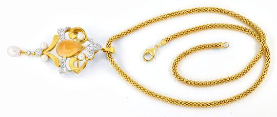 echte alte perlenkette