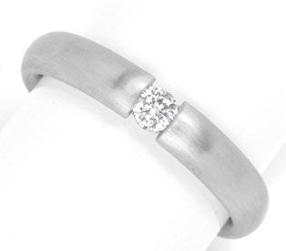 Foto 1 - Diamant Spann Ring, 950 Platin, River VS1, Luxus!, Neu!, S4109