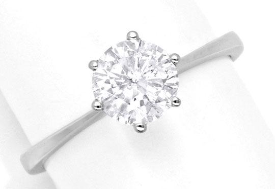 solitär diamantring