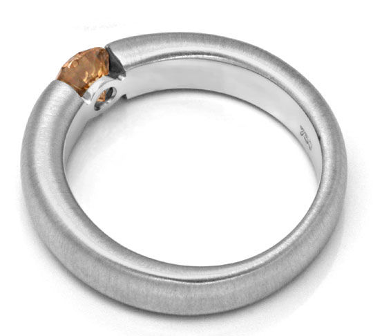Foto 3 - Diamant Spannring HRD 0,57 Fancy Yellowish Brown Luxus!, S4637