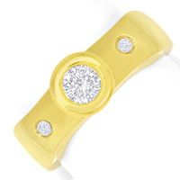 zum Artikel Brillant Gold Ring 0,50ct River Brillanten 14K Gelbgold, S4813