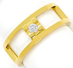 Original Jette Joop Brilliant Ring 0,09 ct 18K Gelbgold, S4987