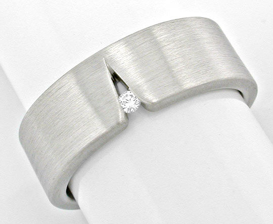 Foto 2 - Original Niessing Ring, Brillant Grau Weissgold Neu 18K, S6005