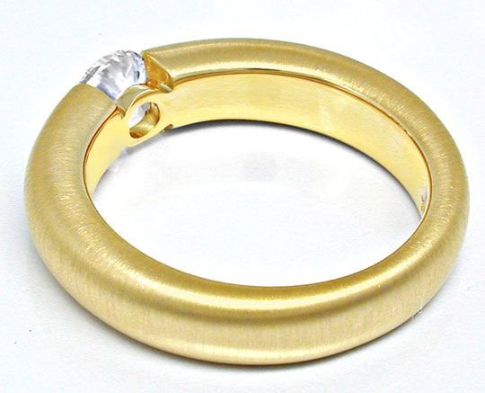 Foto 3 - Brillant Spann Ring River 18K Gelbg. massiv Luxus! Neu!, S6007