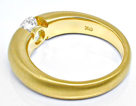 Foto 3 - Brillant Spann Ring 1,10ct 18K Extra Massiv Schmuck Neu, S6315