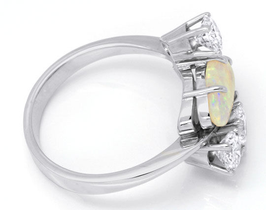 Foto 4 - Brillantring 1,2ct River SI Super Opal Weissgold Luxus!, S6347