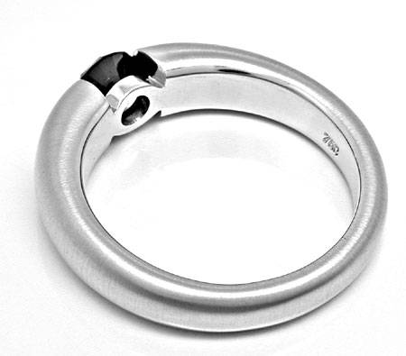 brillant spann ring schwarzer diamant 0 78ct luxus neu s6380. Black Bedroom Furniture Sets. Home Design Ideas