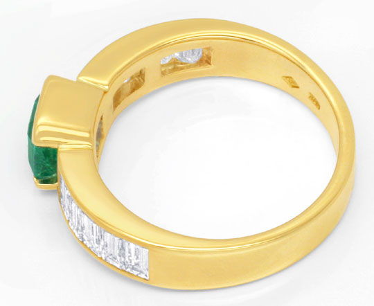 Foto 3 - Ring 1,23ct Superfeiner Smaragd 1,71ct River LC Schmuck, S6633