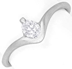 platinring mit diamant tropfen 0 20ct river luxus neu s6644. Black Bedroom Furniture Sets. Home Design Ideas