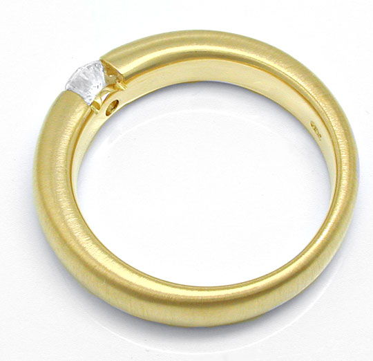 Foto 3 - Brillant Spann Ring 18K GG 0,29ct River VS1 Luxus! Neu!, S6976