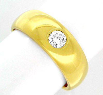 Foto 1 - Brillant Ring River!! Lupenrein!! 18K massiv Luxus! Neu, S8266