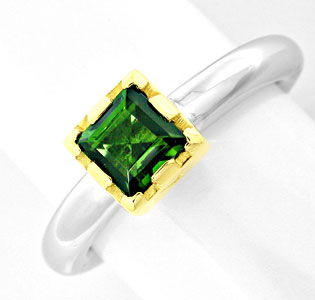 Foto 1 - Turmalin Designer Ring massiv Bicolor 14K/585 Shop Neu!, S8347