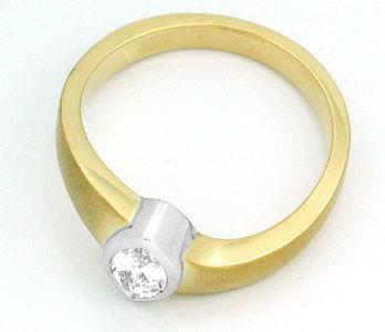Foto 3, Neu! Topdesigner-Diamantnavette-Ring GG Luxus Portofrei, S8388