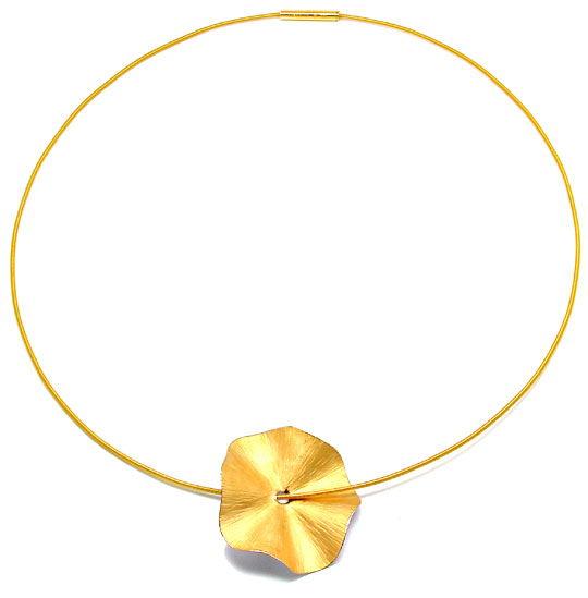 Foto 3, Original Niessing! Platin-Gold-Kollier Wert Shop Neuw.!, S8420