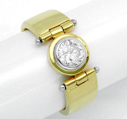 Foto 1, Neu! Spitzen-Solitär-Ring Traum-Design Luxus! Portofrei, S8424