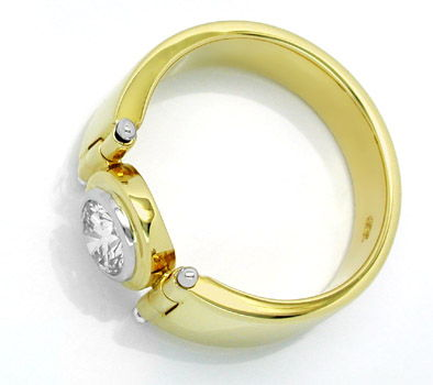 Foto 2, Neu! Spitzen-Solitär-Ring Traum-Design Luxus! Portofrei, S8424