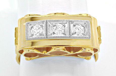 Foto 1, Traumhafter Brillant-Ring, Reine Handarbeit Luxus! Neu!, S8446