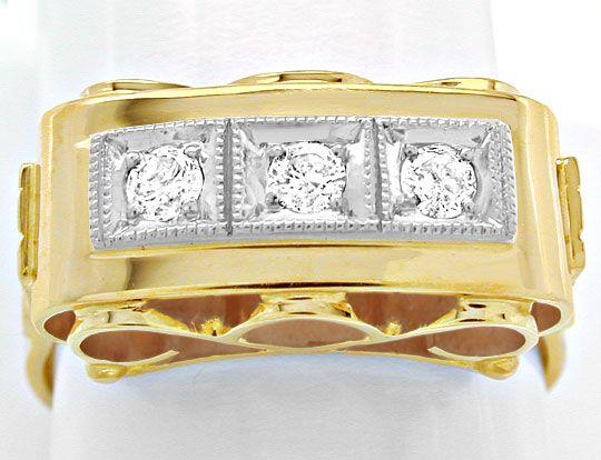 Foto 2, Traumhafter Brillant-Ring, Reine Handarbeit Luxus! Neu!, S8446