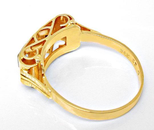 Foto 3, Traumhafter Brillant-Ring, Reine Handarbeit Luxus! Neu!, S8446
