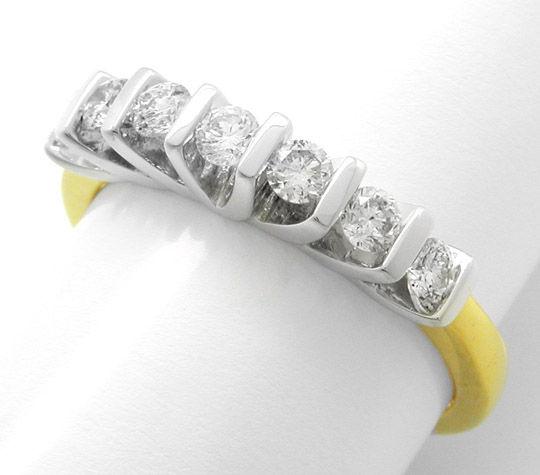 Foto 1, Neu!! Traumhafter Brillant-Memory-Ring Luxus! Portofrei, S8463
