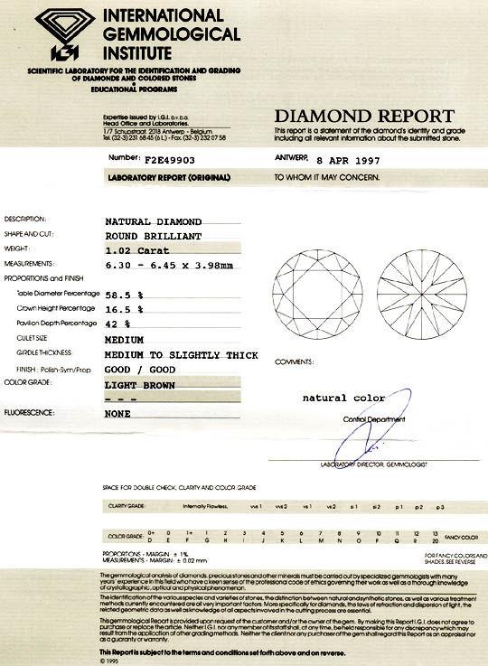 Foto 9, Neu! Brillant-Solitär-Ring 1,02ct IGI! Luxus! Portofrei, S8487