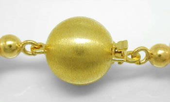 Foto 3, 9mm Spitzen Zuchtperlen Kette Schloss 14K Gold Shop Neu, S8528