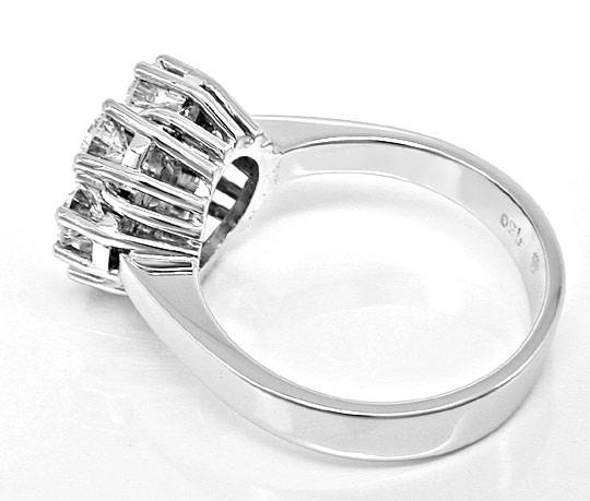 Original-Foto 3, BRILLANT-RING RIVER LUPENREIN 1,78ct HANDARBEIT SCHMUCK