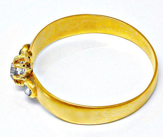 Foto 3, Echt antiker Uralter Diamant-Ring 14K Toperhaltung Shop, S8593