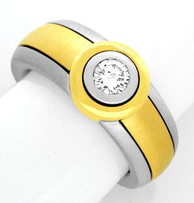 Foto 1, Neu! IGI-Brillant! in Super-Traum-Ring Luxus! Portofrei, S8629